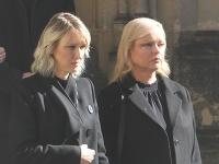 Lucie a Dominika - najstaršie dcéry Karla Gotta