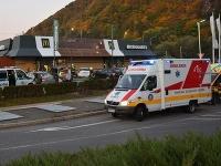 Kuriózna nehoda v Banskej Bystrici.
