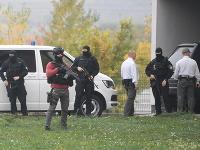 Zoltána Andruskóa priviezli do Pezinka na Špecializovaný trestný súd.