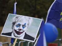 Boris Johnson ako Joker