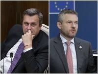 Andrej Danko a Peter Pellegrini