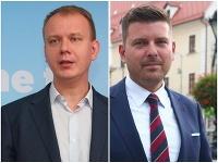 Miroslav Beblavý a Martin Borguľa