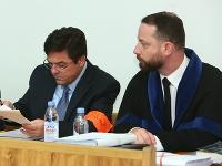Marian Kočner a jeho obhajca Marek Para