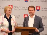Anna Záborská a Igor Matovič
