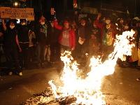 Ulice Bolívie sa naplnili demonštrantmi.