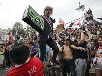 Protesty v Čile neutíchajú