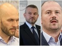 Michal Truban, Peter Pellegrini, Marian Kotleba