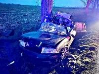 Dopravná nehoda pri obci Buzica si vyžiadala jednu obeť