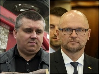 Dopravný expert Marián Ürge a Richard Sulík