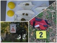 Žiak základnej školy našiel podozrivé predmety.