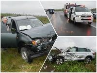 Polícia vyšetruje presné príčiny a okolnosti nehôd v okrese Galanta.
