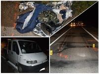 Auto zrazilo chodca, peší nemal reflexné prvky.