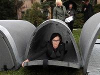 Košickí bezdomovci budú spať v iglu