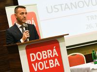 Líder strany Dobrá voľba Tomáš Drucker