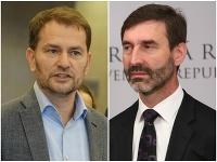 Igor Matovič a Juraj Blanár