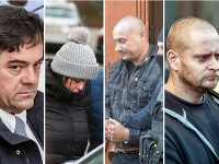 Pätica obvinených v prípade vraždy Jána a Martiny.