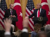 Recep Tayyip Erdogan a Donald Trump