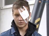 Andreas nehodu prežil