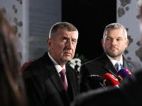 Andrej Babiš a Peter Pellegrini