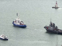 Odovzdanie lodí sa uskutočnilo podľa vopred uzavretej dohody