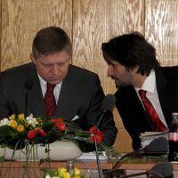 Robert Fico a Robert Kaliňák
