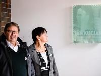 Odhalenie pamätnej tabule Jánovi Kuciakovi na Gymnáziu v Bytči