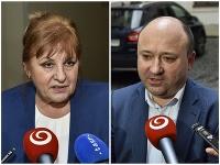 Jarmila Urbancová a Ľuboš Sádovský