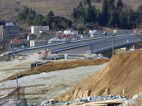 Stavba diaľničného úseku D1 Lietavská Lúčka - Višňové - Dubná Skala