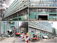 Biznis centrum Apollo 1 v Bratislave už búrajú