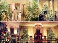 U Trumpovcov budú Vianoce plné stromčekov