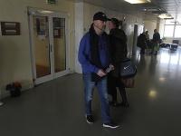 Pavol Rusko dorazil do ružinovskej kliniky, kde má byť hospitalizovaný.
