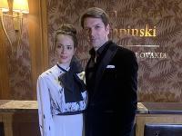 Gabika Marcinková a Marek Majeský