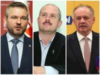 Peter Pellegrini, Marian Kotleba, Andrej Kiska