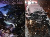 Tragická dopravná nehoda v obci Harmanec.