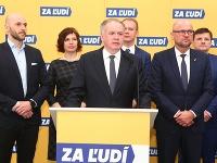 Predstavitelia opozičných strán