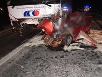 Vodič, ktorý sa zrazil s autobusom, mal v krvi tri promile alkoholu