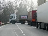 Štrajk autodopravcov