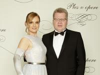 Andrea a Juraj Čurní na Plese v opere 2020.