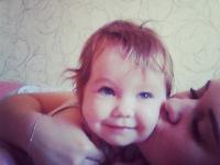 Maria Plyonkina s dcérkou Kristinou v roku 2017