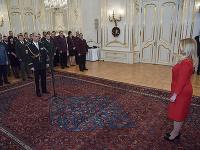 Prezidentka SR Zuzana Čaputová počas novoročného prijatia predstaviteľov HaZZ, HZS a PZ