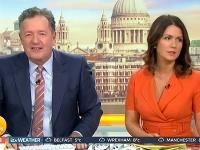 Piers Morgan a Susanna Reid