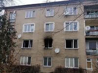Policajti objasňujú pondelkový požiar v jednom z bytov na Čapajevovej v Prešove