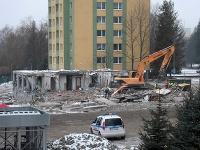 Smutný pohľad na miesto, kde kedysi mali domov desiatky rodín