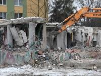 Smutný pohľad na miesto, kde kedysi mali domov desiatky rodín.