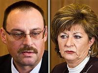 Dobroslav Trnka a advokátka Eva Mišíková