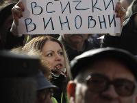 Obyvatelia mesta Pernik protestovali proti nedostatku pitnej vody.