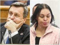 Andrej Danko a Alena Zsuzsová