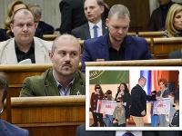 Marian Kotleba sa postaví pred súd v Pezinku kvôli kontroverzným šekom.