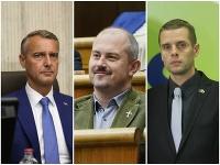 Richard Raši, Marian Kotleba, Martin Klus