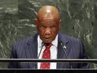 Thomas Motsoahae Thabane.